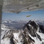 Savannah ADV flies across the Alps