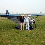 Delivey of Savannah ADV to the Italian aerobatic champion Sergio Dallan