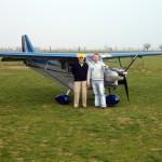Delivey of Savannah ADV to the Italian aerobatic champion Sergio Dallan