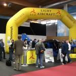 I.C.P. stand at AERO Friedrichshafen 2009